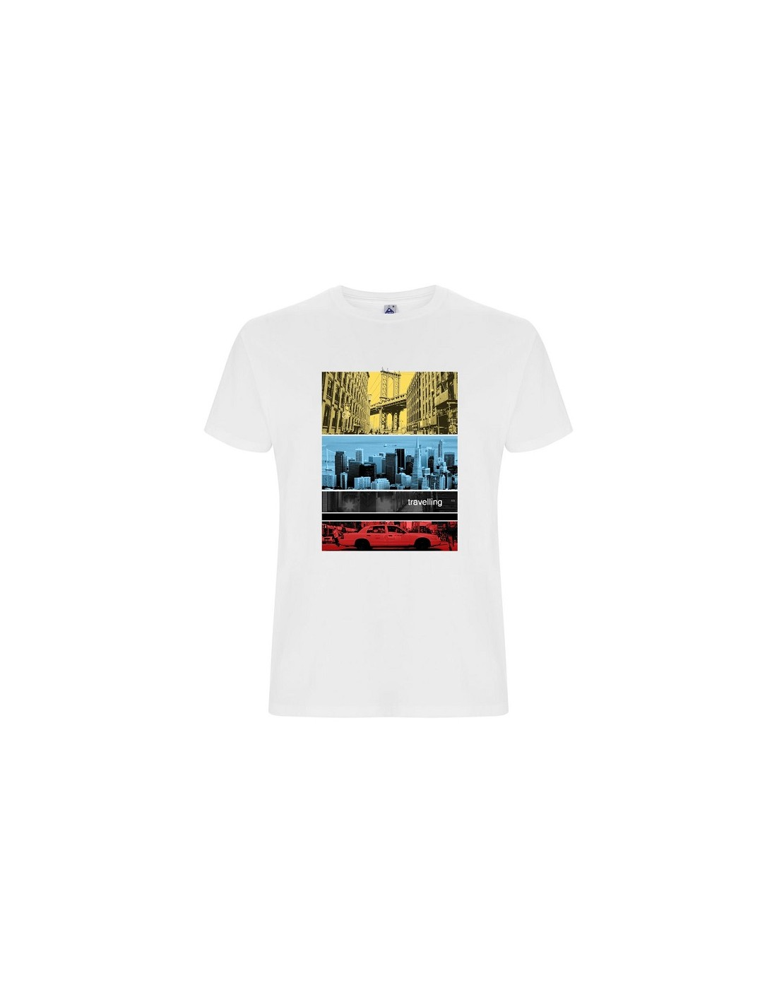 TSHIRT CITY / COLOR - TRAVELLING