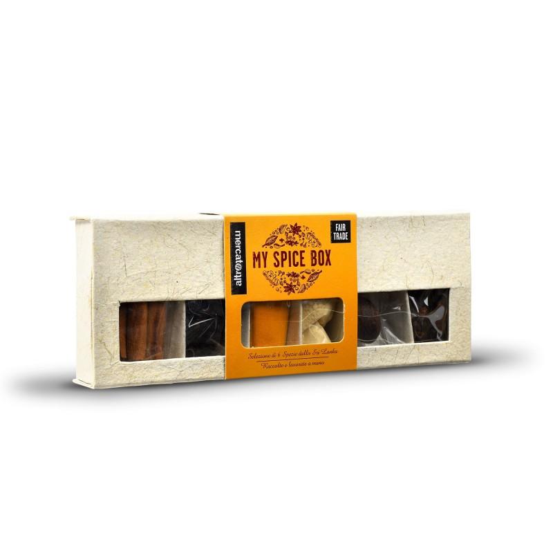 MY SPICE BOX - 6 SPEZIE IN COFANETTO